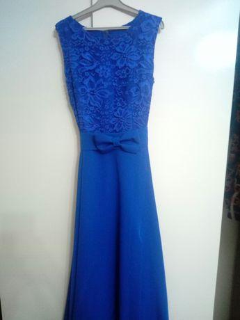 Sukienka chabrowa S