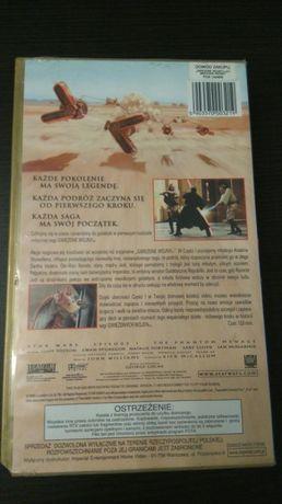 Film Gwiezdne Wojny 1 Mroczne Widmo kaseta VHS