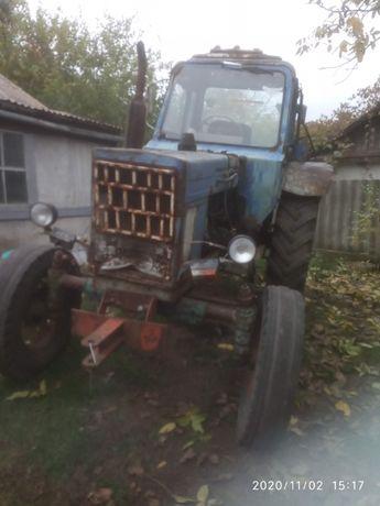 Продам трактор МТЗ 80 на ходу.