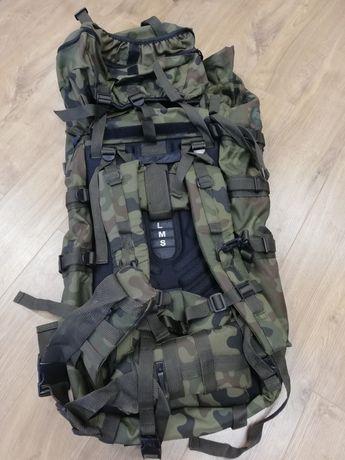 Plecak wojskowy. Zasobnik piechoty górskiej.