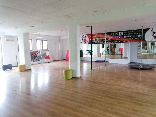Lokal na zajęcia, sala taneczna fitness, lekcje indywidualne grupowe.