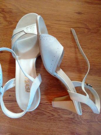 buty, sandały, skóra, nowe nie używane, 39