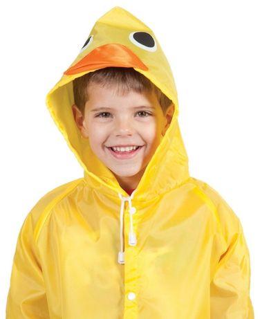 Дождевик, куртка, ветровка, плащ детский