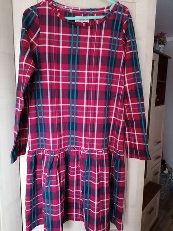 Sukienka Krata Nowa 11 lat