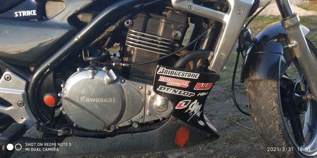 Kawasaki er 500, обмін на крос з моєю доплатою.
