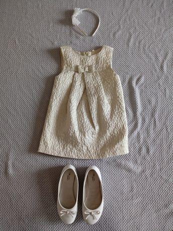 Sukienka na wesele, komunię 104-116