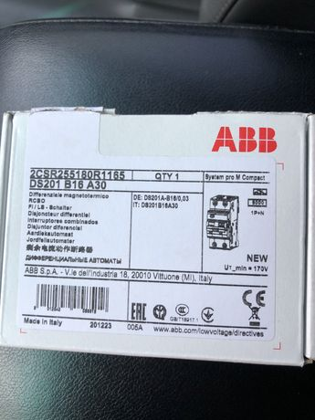 ABB оригинал!в асортименте много разных позиций