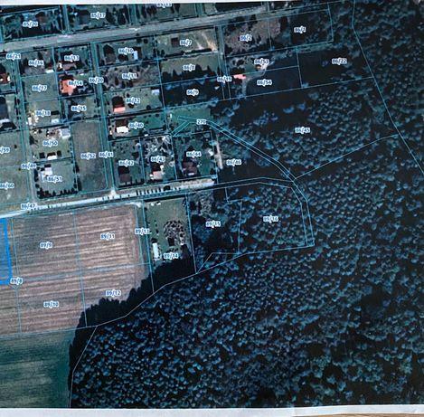 Sprzedam działka nad jeziorem Woświn w Oświno 2300m2