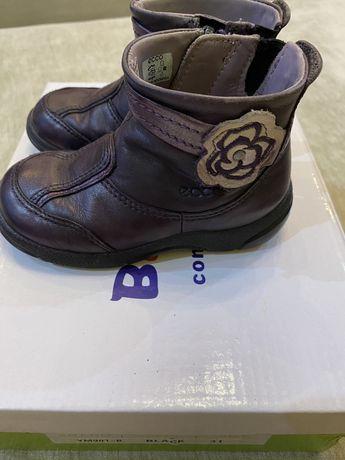 Осенние ботиночки на девочку 22 и 23 размер