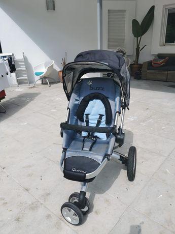 Conjunto Carrinho Quinny Buzz + Ovo + 2 cadeiras auto