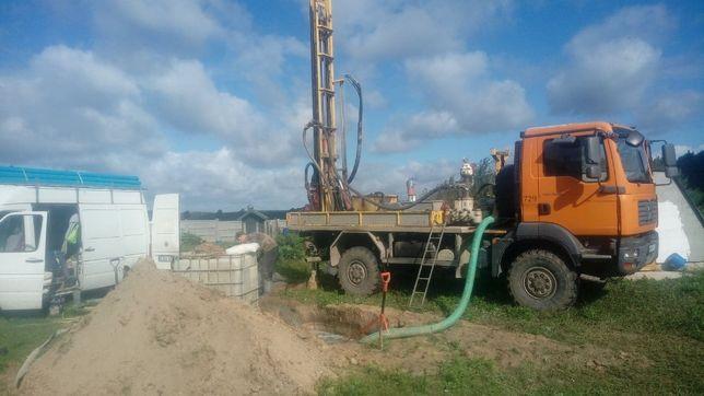 studnie, wiercenie, hydrogeologia, odwierty pod pompy ciepła