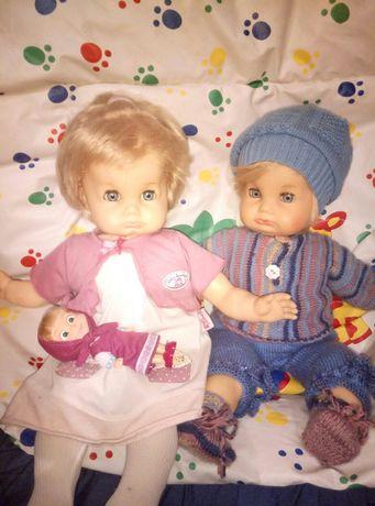 Две коллекционные немецкие куклы с клеймом черепашки