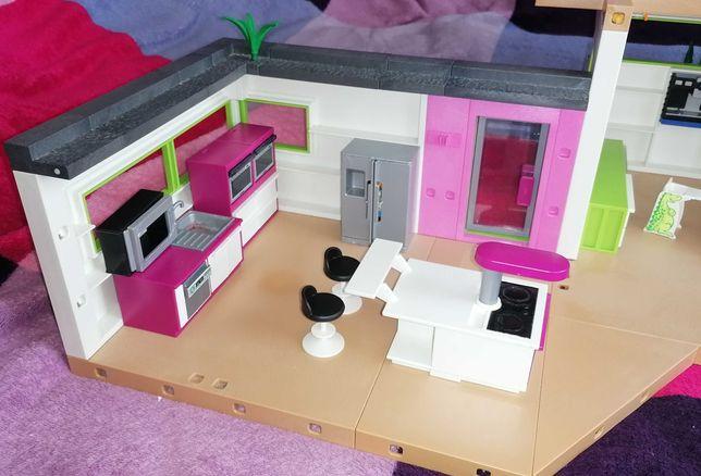 Domek playmobill Luksusowa willa z wyposażeniem