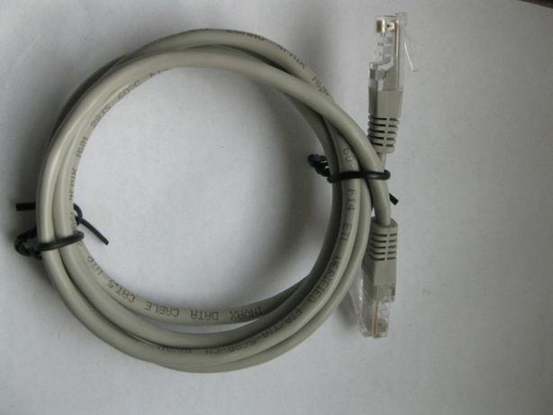 Кабель интернетный с джеками длина 1.2 м для интернета