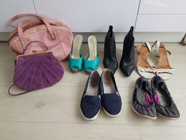 Сумки и обувь пакетом. Все за 150 грн