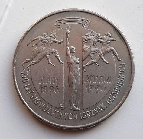 2 zł 1995 r. 100 lat nowożytnych igrzysk moneta III RP okolicznościowe
