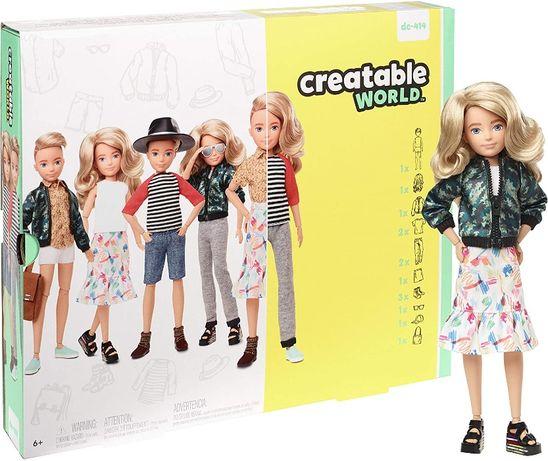 КуклаСоздаваемый Мир Creatable World светлые волнистые волосы