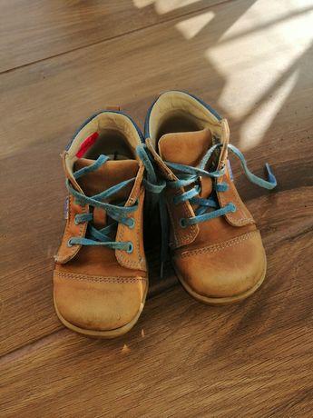 Buty skórzane dziecięce Renbut rozmiar 22