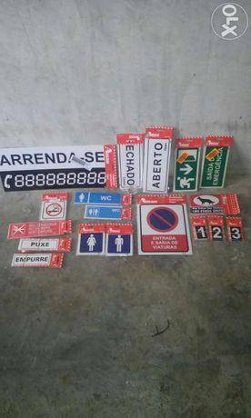Placas de sinalizaçao(NOVAS POR ESTREAR)