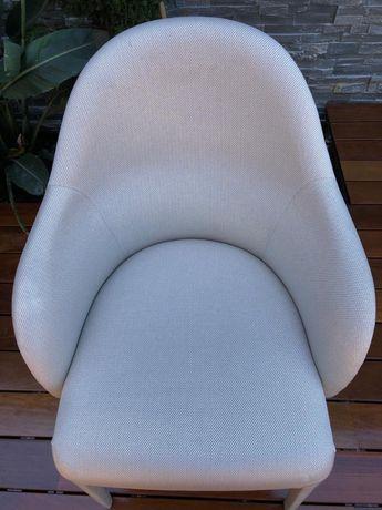 Cadeiras FENDI - Pele e Tecido (8 cadeiras)