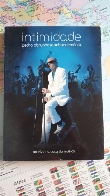 DVD triplo Pedro Abrunhosa