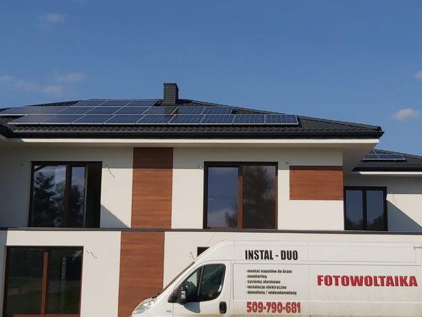 FOTOWOLTAIKA-CENA OD 2400zł/kW Instalacje elektryczne, pomiary elektr.