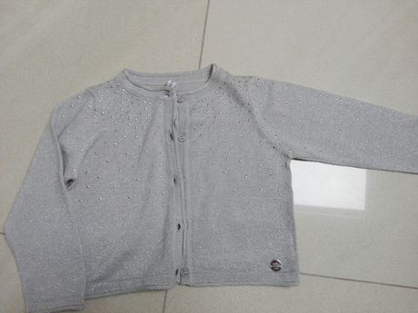 Sweter, sweterek cocodrillo, szary 92