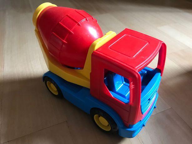 Машинки детская мусоровоз/бетономешалка Wader
