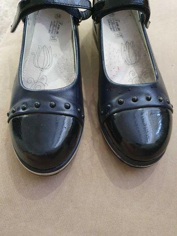 Кожанные Туфли в школу