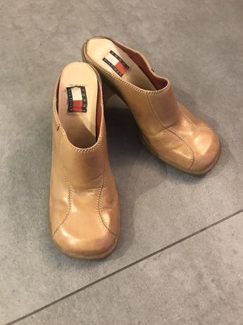 Skórzane buty Tommy Hilfiger