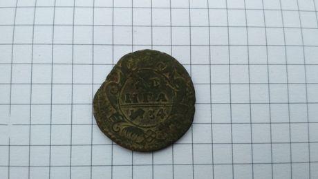 Деньга (денга) 1734 год.