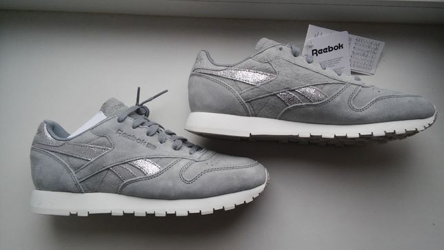 кроссовки Reebok CLASSIC Leather shimmer 39р.