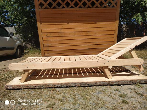 Продам лежаки деревянные