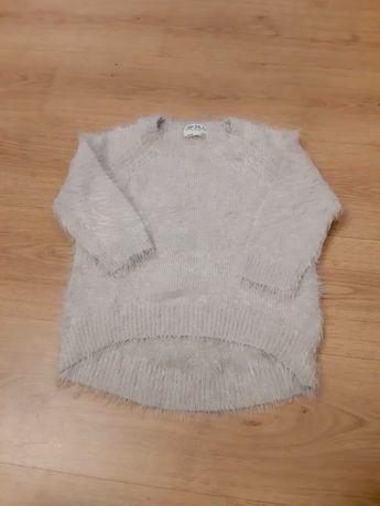 Zara sweterek zima zara miekki 116 tczew beżowy