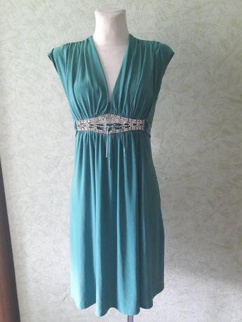 Zielona sukienka firmy River Island - rozmiar 38