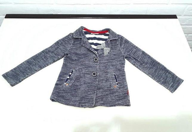 Трикотажный пиджак под джинс от next 3-4 года