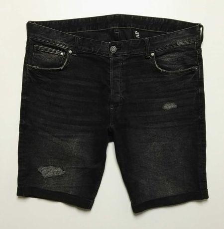 H&M_nowe męskie spodenki Slim fit shorts_W38