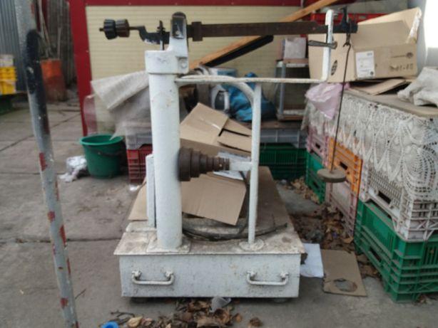 Весы напольные механические до 500 кг бу
