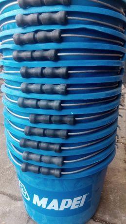 WIADRA plastikowe z wygodną rączką 16L