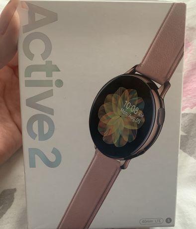 SmartWatch SAMSUNG Galaxy Watch Active2 LTE Stal Nierdzewna 40mm Złoty