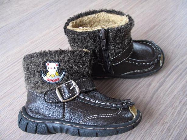 Kozaki, buty zimowe r. 22 - 13 cm