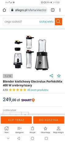 Nowy blender elektrolux