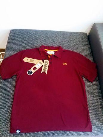 Koszulka Polo Fox bordowa rozmiar XL korda nash