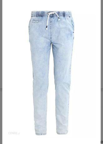Twintip spodnie zalando M nowe z metką light denim