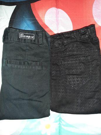 Vendo 2 pares de calças de menina 7 anos