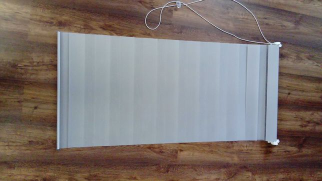 Roleta dzień noc Pure 55 x 140 cm jasnoszara