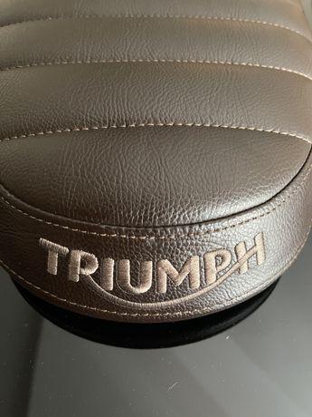 Triumph Bonneville/Scrambler/Street Twin - Banco Slim Castanho
