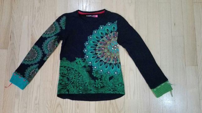 Bluzka-sweterek Desiqual z długim rękawem 7-8 lat.