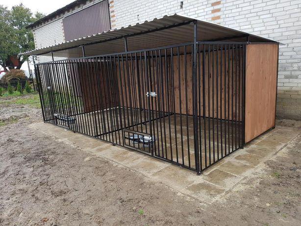 box kojec klatka Dla Psa Szybka buda dostawa 4x2m montaż gratis