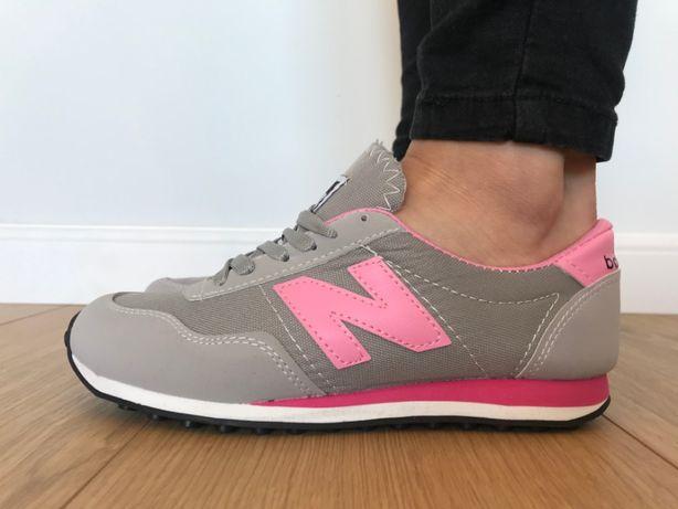 New Balance 410. Rozmiar 37. Szare - Różowe. NOWE. DAMSKIE